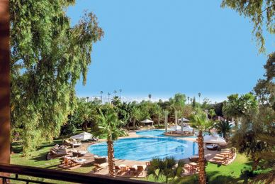 Es Saadi Hotel - Marrakech Resort Marocko