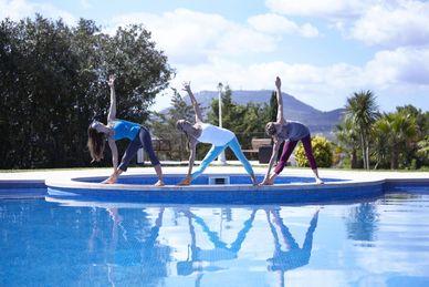 Yoga retreat i Finca Son Manera på Mallorca Spanien