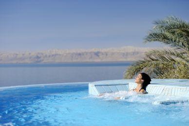 Avslappning vid Döda Havet