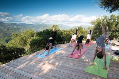 Yoga i Eco Lodge Home of Silence Grekland