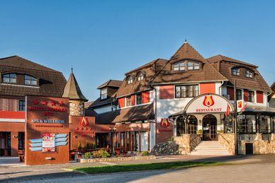 Hotel Piroska Ungern